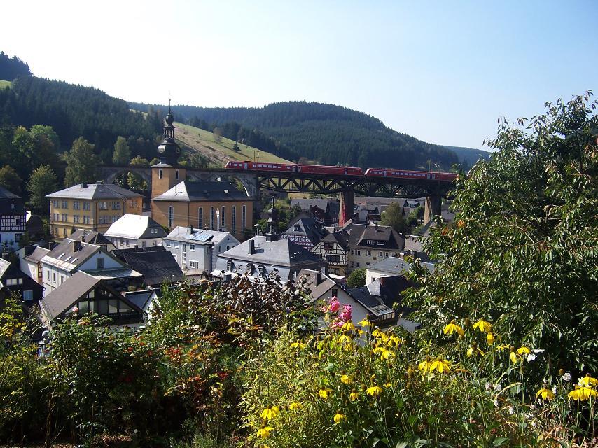 Ludwigsstadt Ortsansicht
