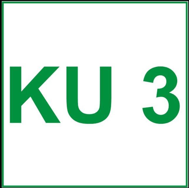 Markierungszeichen KU 3