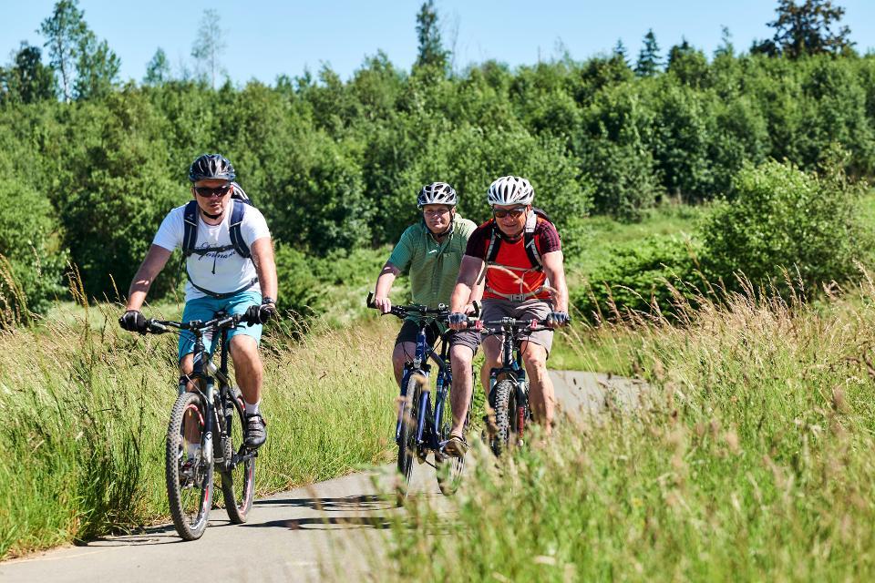 Radfahren Frankenwald