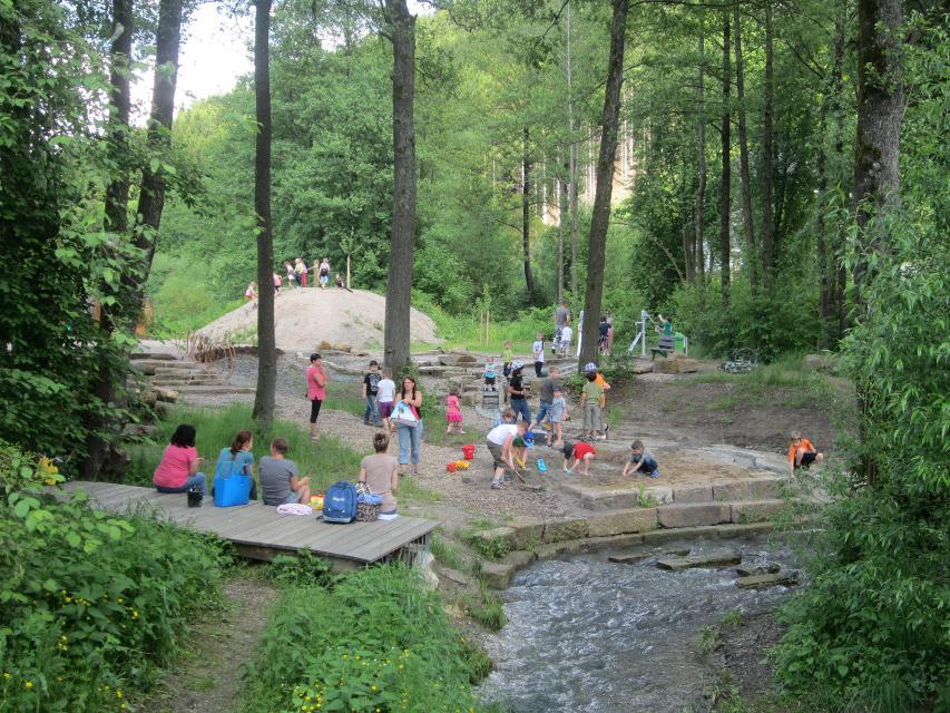 Spielplatz Natur Erlebnis Leutnitztal