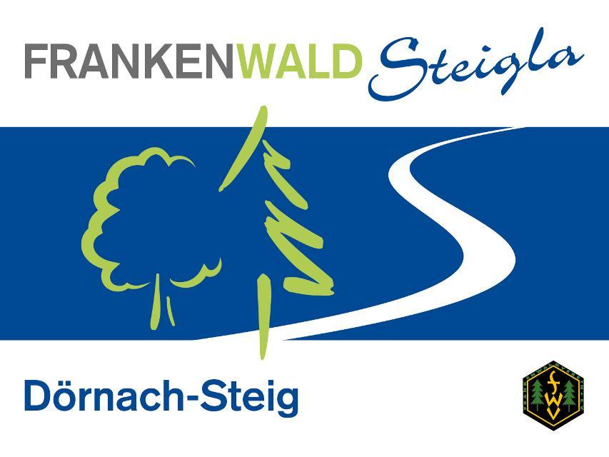 Markierungszeichen FrankenwaldSteigla Dörnach-Steig