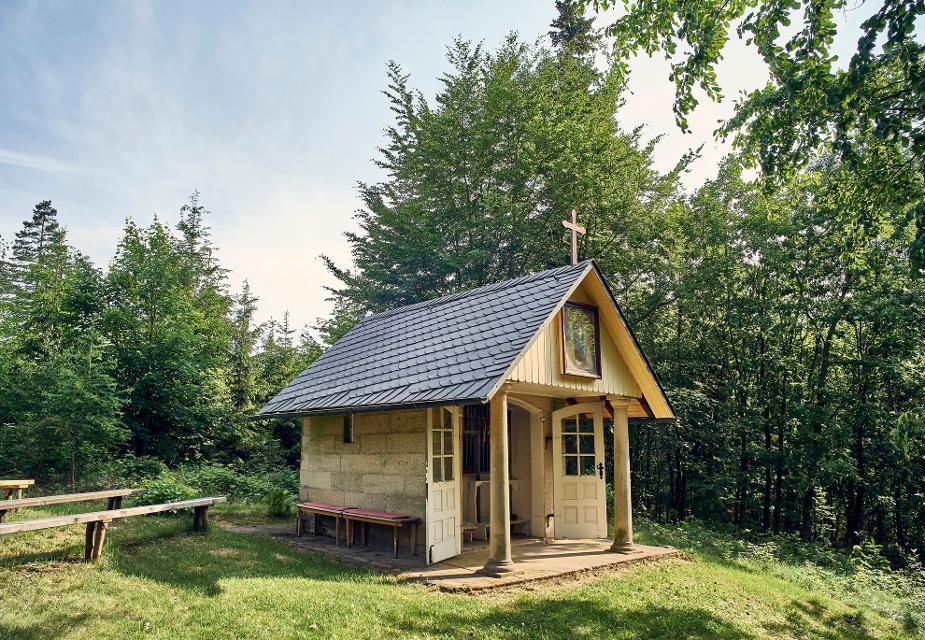 Waldkapelle bei Gloßberg