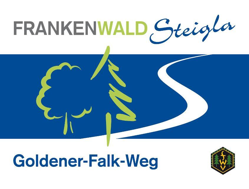 Markierungszeichen Goldener-Falk-Weg