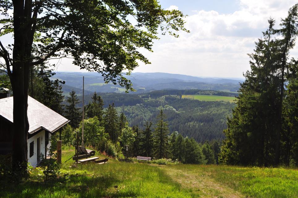 An der Bergwachthütte