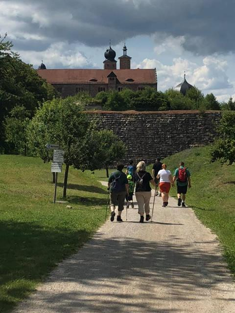 An der Plassenburg