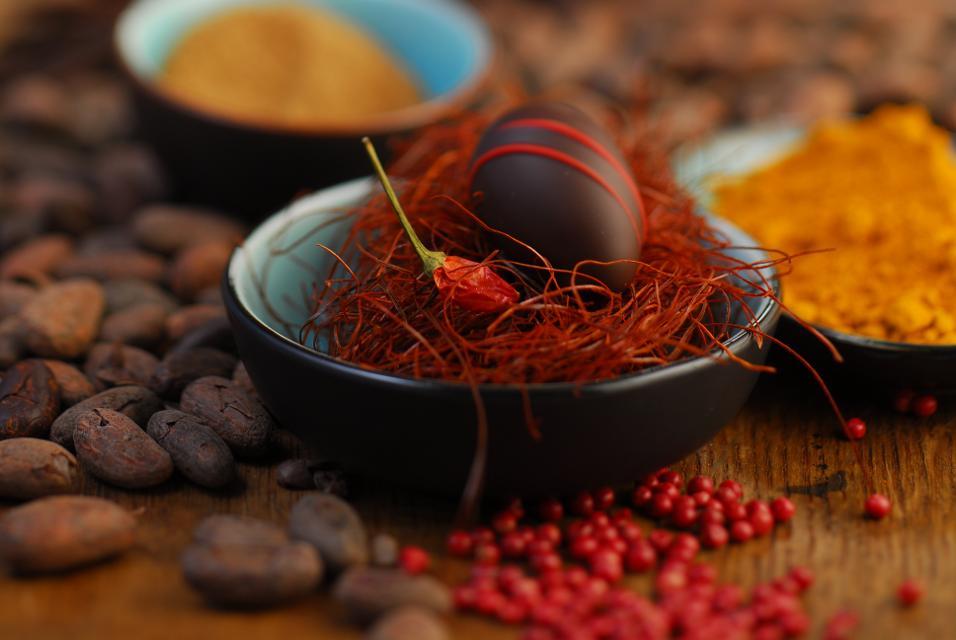 Chilifäden mit Ei