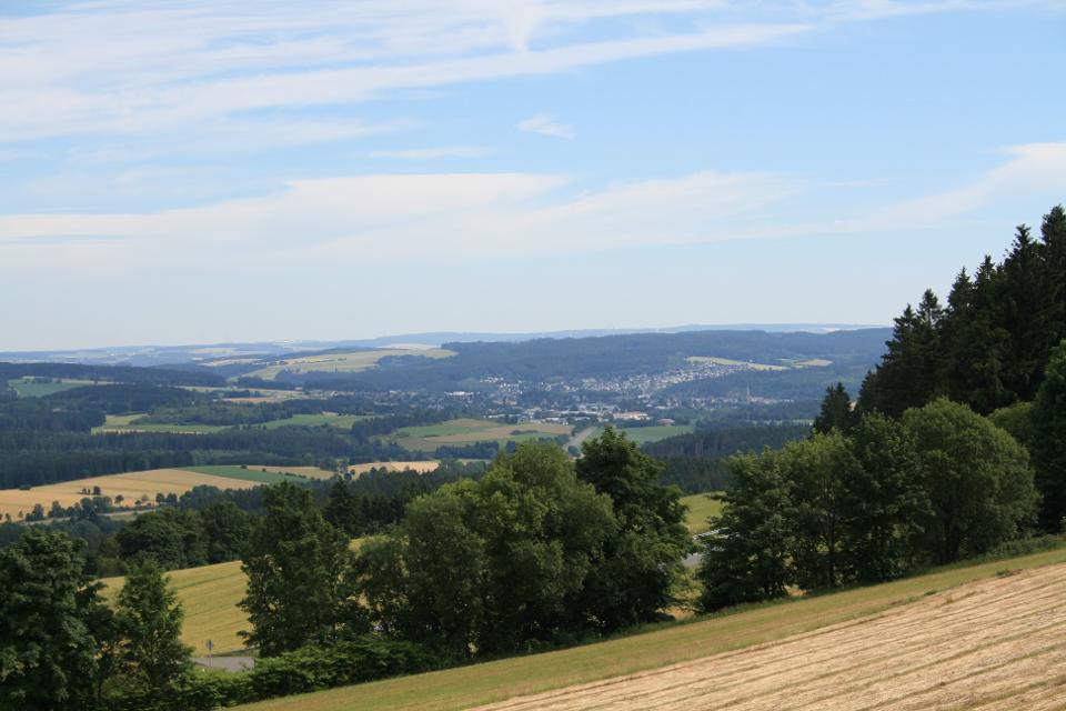 Blick von der Panoramahuette
