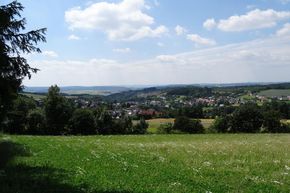 Blick auf Kupferberg - Weite atmen