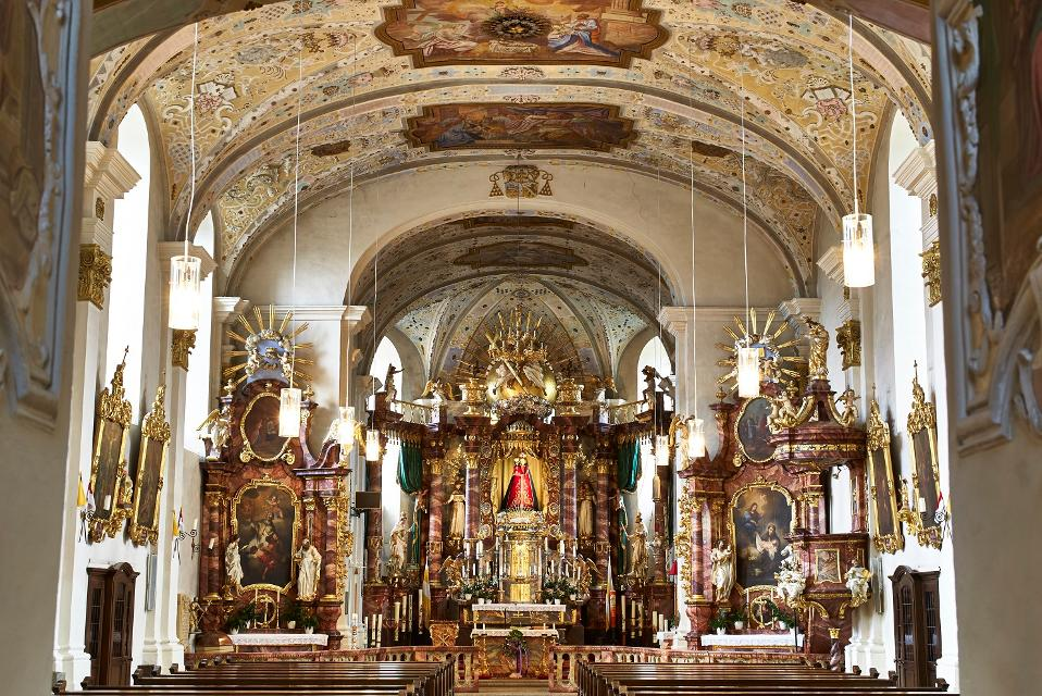 Altar Walfahrtsbasilika Marienweiher