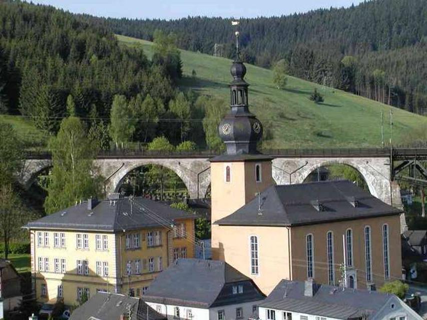 Blick auf Ludwigsstadt