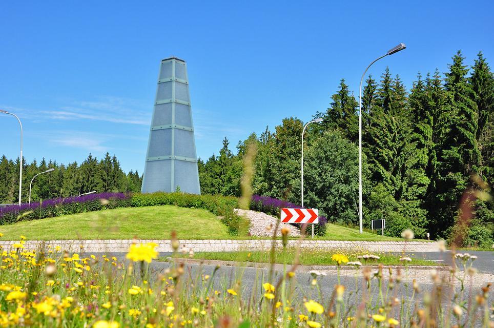 Obelisk Steinbach am Wald