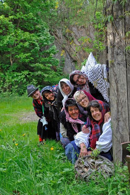 Frankenwald Weiber lauern überall