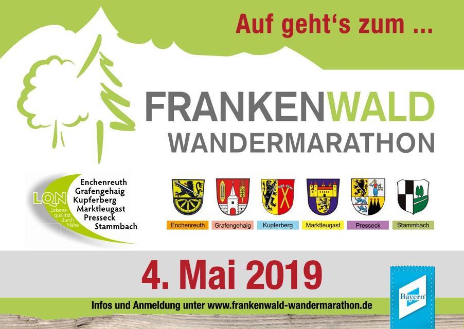 Auf geht´s zum Frankenwald Wandermarathon