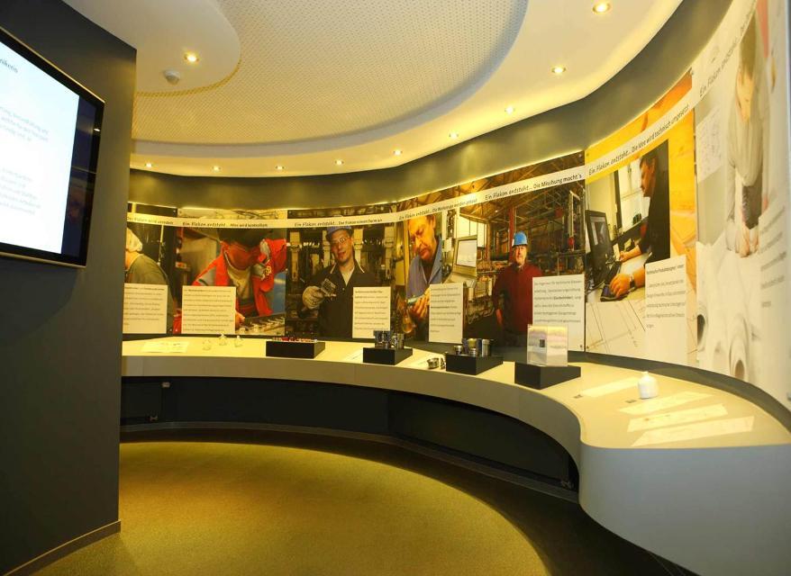 Im Europäischen Flakonglasmuseum in Kleintettau
