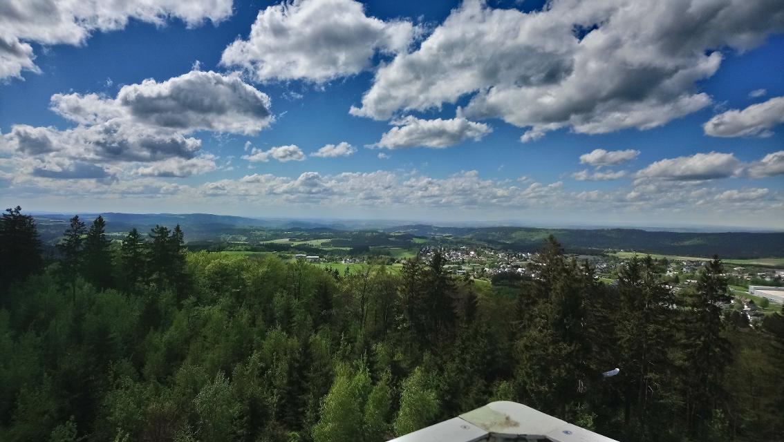 Blick vom Prinz-Luitpold-Turm