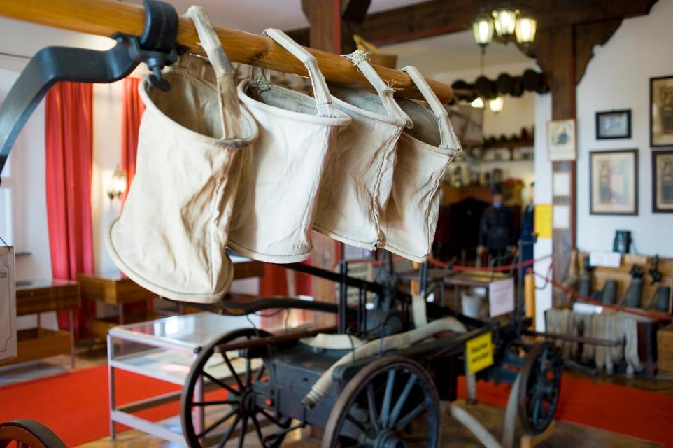 Im Oberfränkischen Feuerwehrmuseum im Schloss Schauenstein