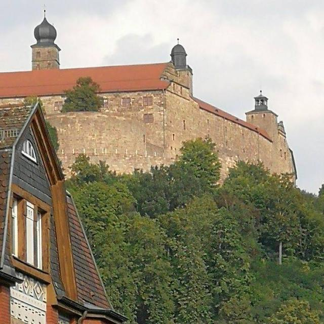 Blick zur Plassenburg
