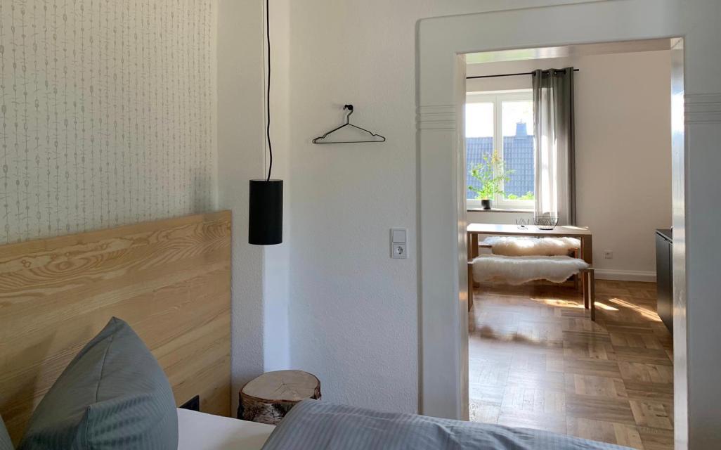 Schlafzimmer WAGNERS Forsthaus Nordhalben