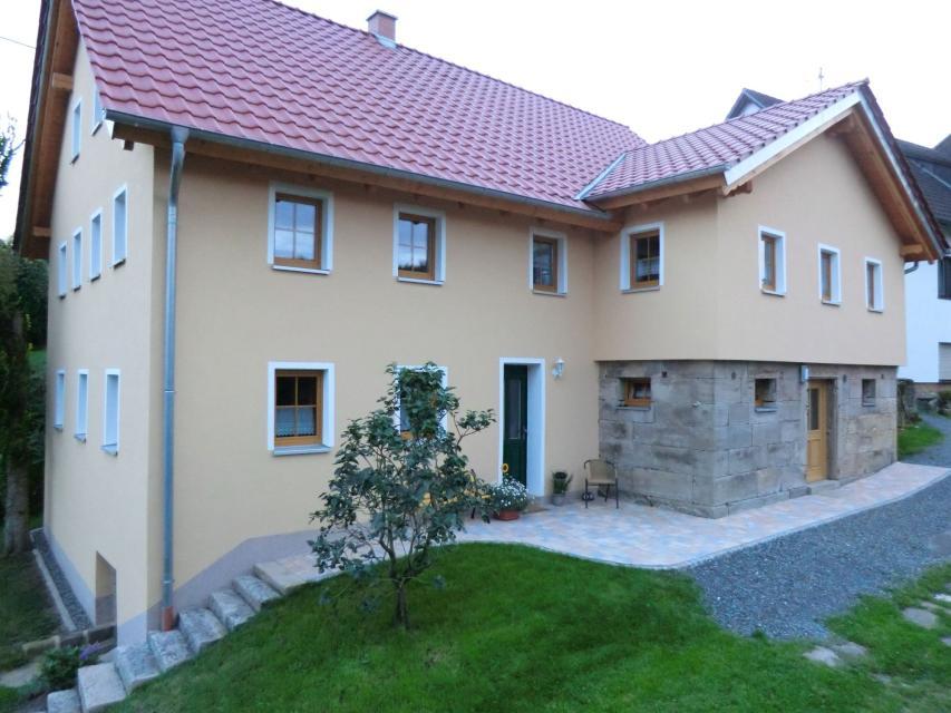 Hausansicht Ferienhaus Herrmann