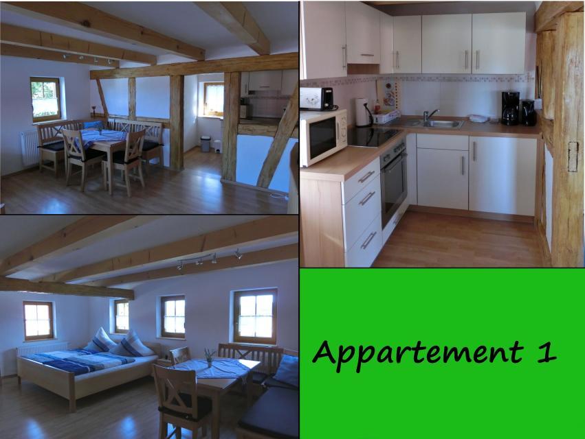 Appartement 1 Ferienhaus Herrmann