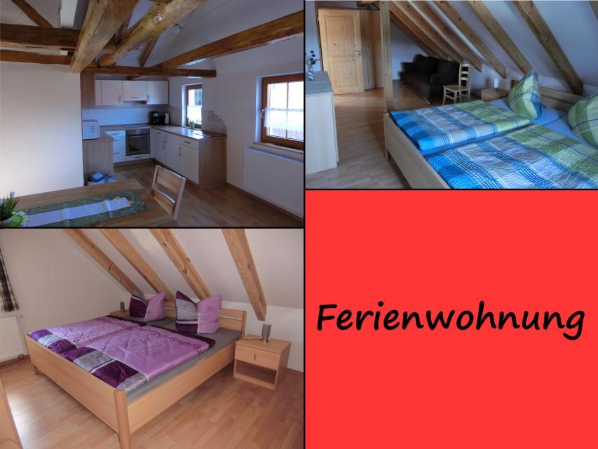 Schlafzimmer Ferienwohnung Ferienhaus Herrmann