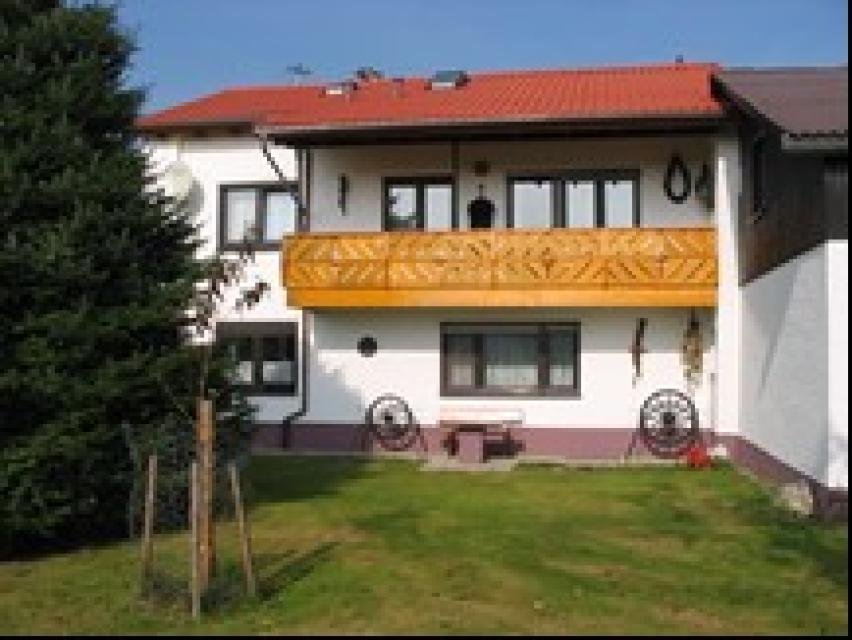 Ferienhof Kuhbandner Gartenansicht