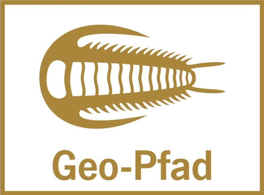 Markierungszeichen Geopfad