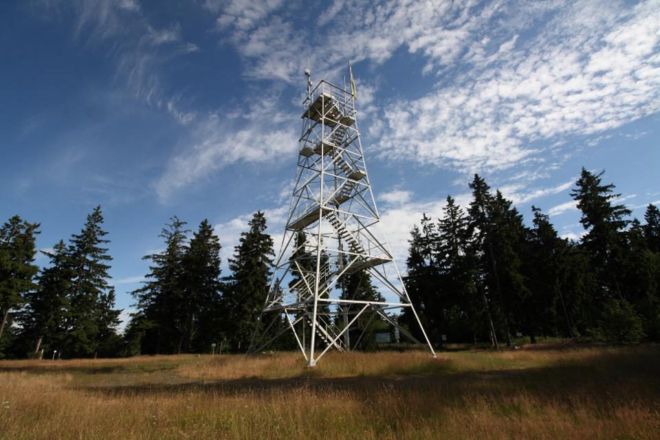 Prinz Luitpold Turm auf dem Döbraberg