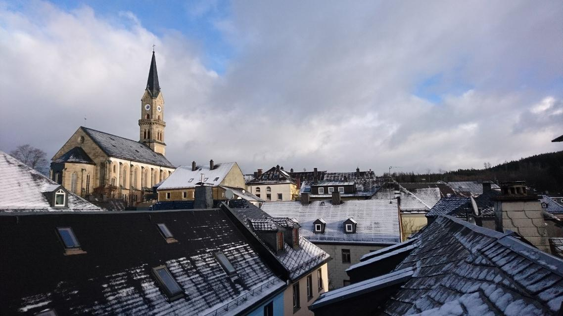 Über den Dächern von Naila