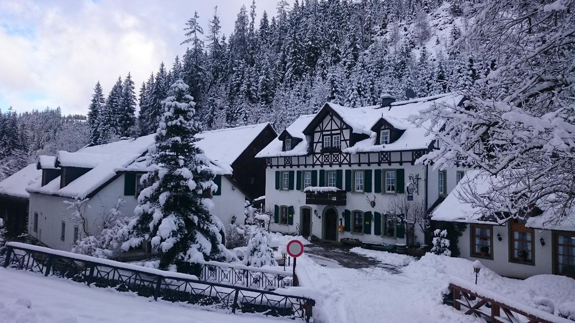 Bischofsmühle im Winter