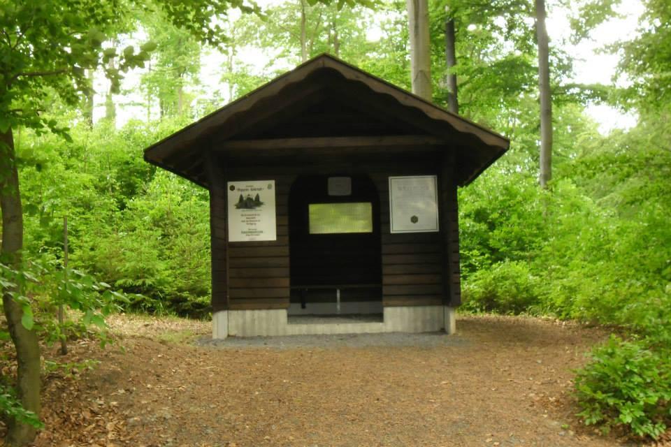 Schutzhütte bei Hopperles Kohlstatt