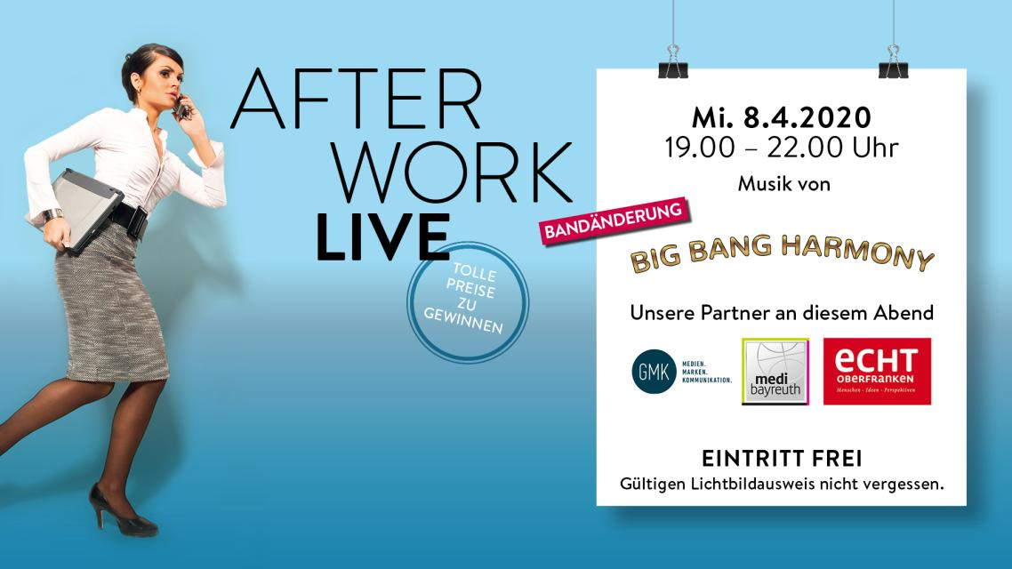 ABGESAGT! After Work LIVE: Fuchsdeifelswild & Echt Oberfranken & GMK