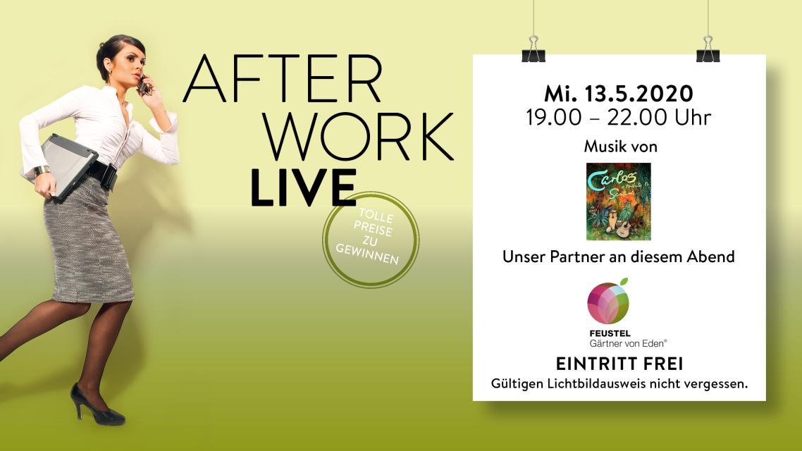 After Work LIVE: Carlos - A Tribute to Santana & Feustel - Gärten und Ideen GmbH