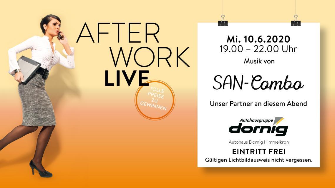 After Work LIVE: SAN-Combo & Autohaus Dornig Himmelkron