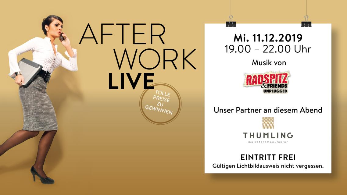 After Work LIVE - Radspitz & Thümling Matratzenmanufaktur