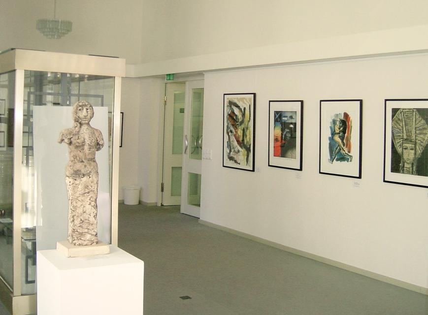 Führung durch die aktuelle Ausstellung im Grafik Museum der Stiftung Schreiner