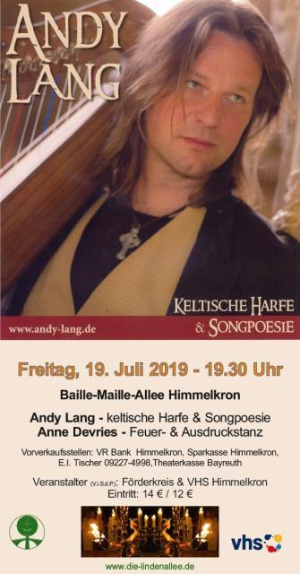 Konzert mit Andy Lang