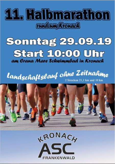 11. Halbmarathon rund um Kronach