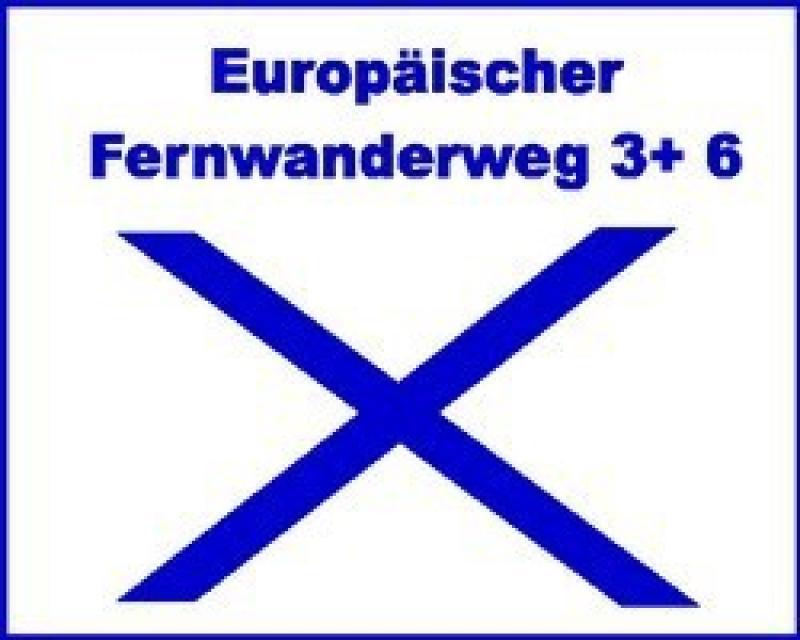 Europäischer Fernwanderweg 3+6