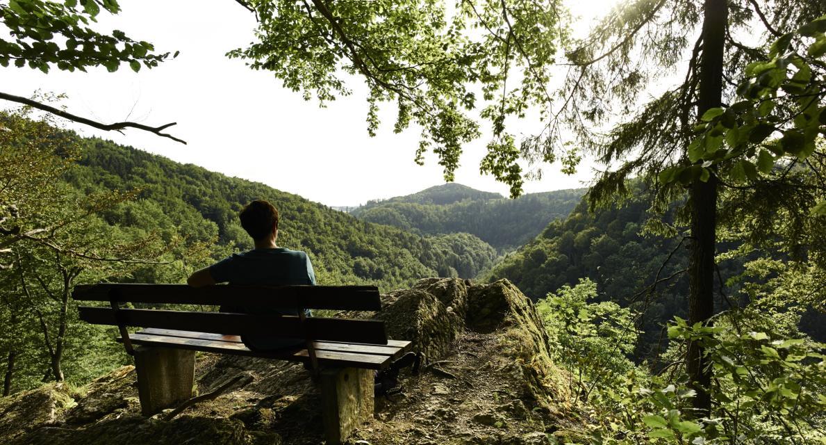 Von Ährenkönigin und närrischen Rittern - Wanderung zum Forstmeistersprung