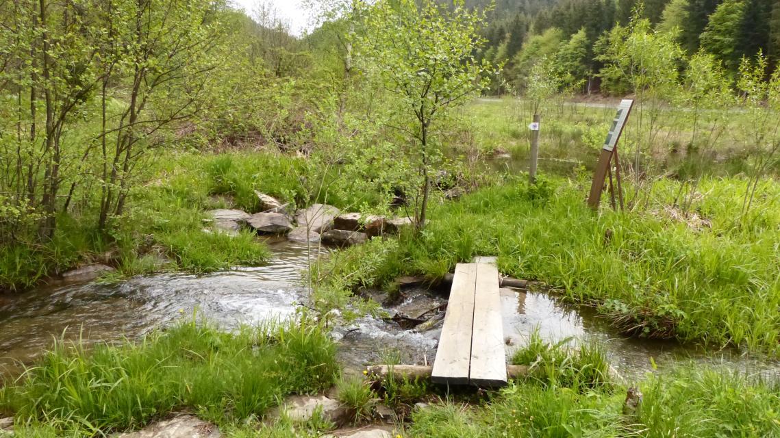 Auf den Spuren des Baumeisters im Lamitztal
