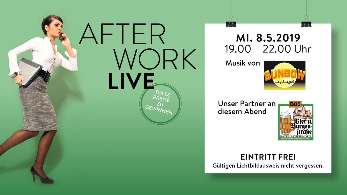 After Work LIVE: Duo Sunbow & Bier- und Burgenstraße e.V.