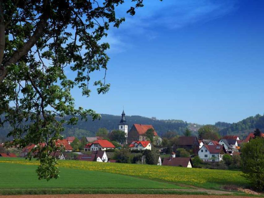 Durch Bauerndörfer am Fuß der Frankenwaldhöhen (KU 7)