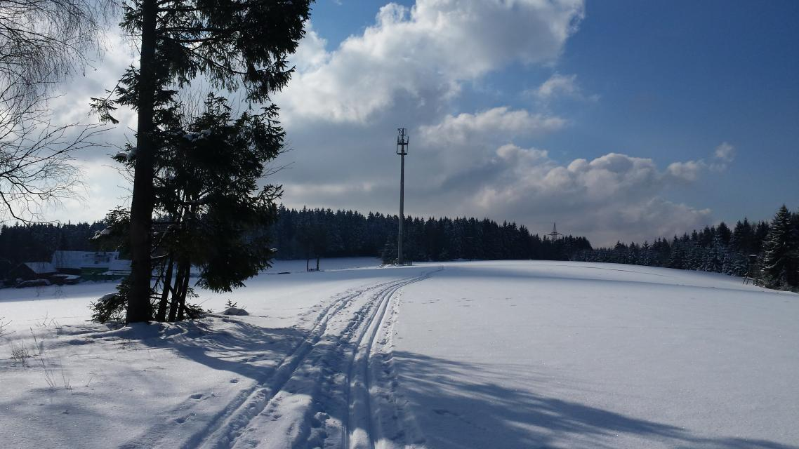 Geroldsgrün: Loipe Rund um den Hahnenkamm (5 / 7 km)