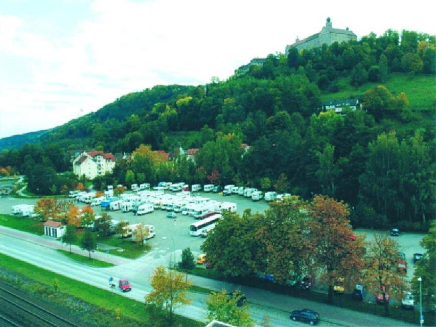 Wohnmobilstellplatz Kulmbach