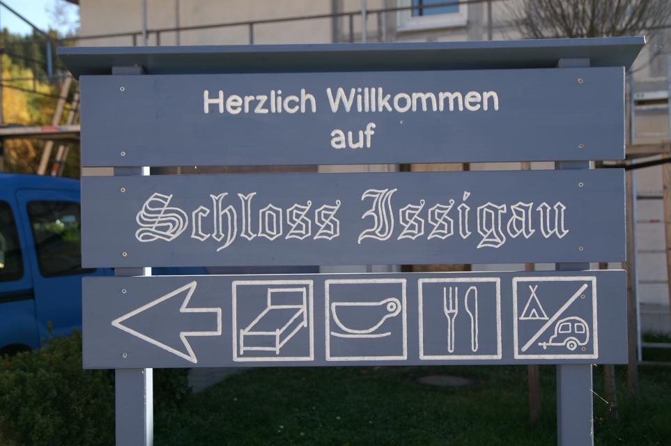 Schloss Issigau - Willkommen -