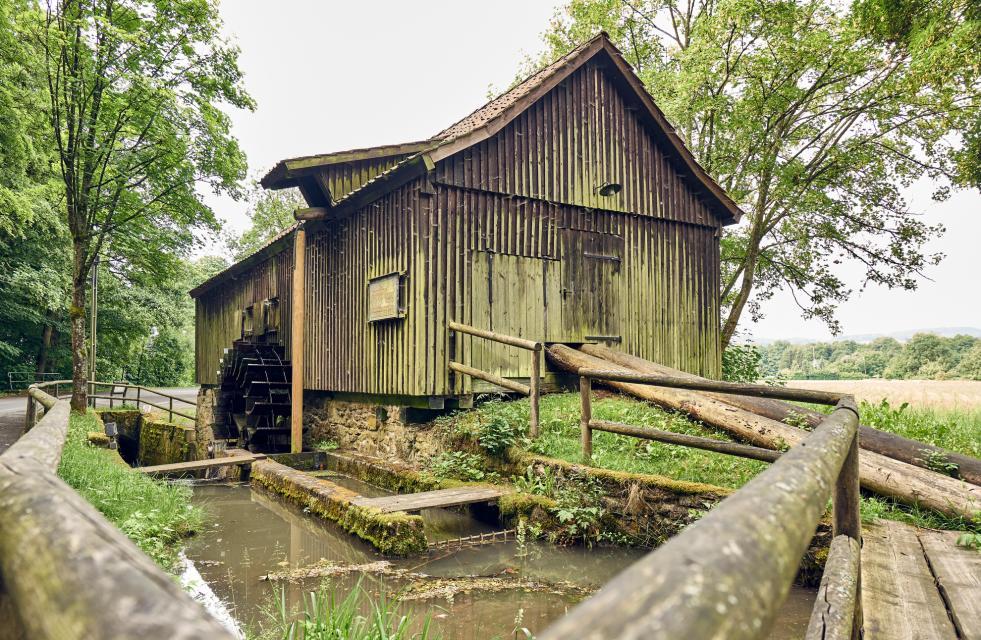Alte Schneidmühle am Hochofen