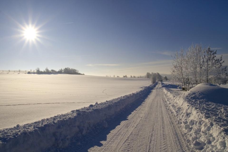 Winterwanderweg Hof