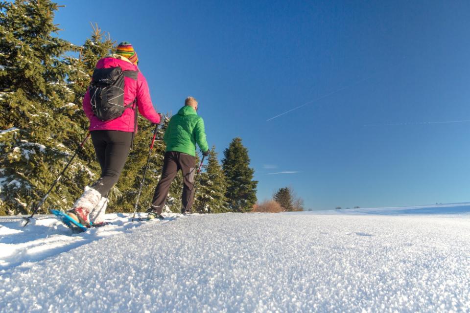 Schneeschuh-Wanderweg 2 Presseck