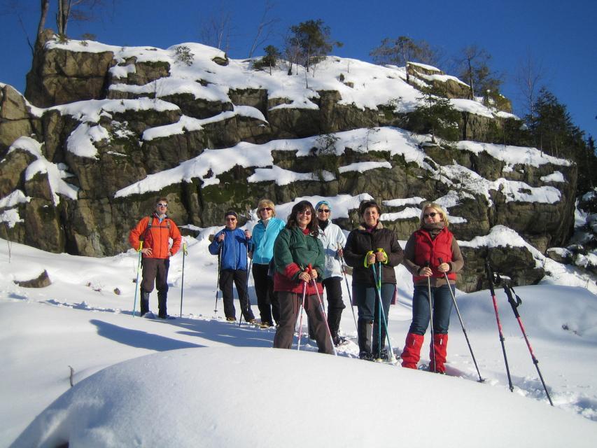 Schneeschuhwandern in Rappetenreuth